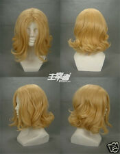 APH Hetalia Axis powers France Anime Cosplay Costume Wig +Free Ship +CAP