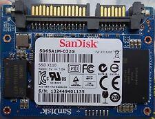 Sandisk SD6SA1M-032G 32GB ssd X110 demi slim MO-297 sata sata 3 6 gbit/s