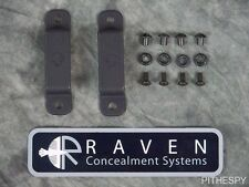 NEW RAVEN CONCEALMENT OWB 1.75 INCH BELT LOOPS SET PAIR FOR MAGAZINE HOLSTER