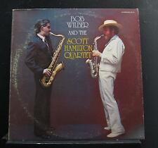 Bob Wilber And The Scott Hamilton Quartet LP Mint- CR-171 1977 Vinyl Record