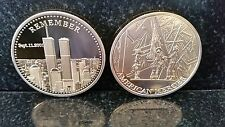 HEROES 911 September 11th Nuevo York City United we moneda de oro 1oz Stand Man USA