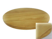 Round circular wooden chopping board cutting serving pizza solid wood 35cm