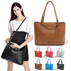 UK WOMENS VINTAGE STYLE SATCHEL LARGE LADIES TOTE GRAB BAG SHOULDER BAG HANDBAG