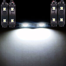 4pcs White LED Accent Lights Modules Interior Car Truck Dash Foot For Dodge