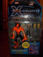 X-Men Evoultion Wolverine w/claw blaster base figure