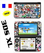 SKIN STICKER AUTOCOLLANT DECO POUR NINTENDO 3DS XL - 3DSXL REF 192 STICKER BOMB