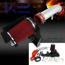 Escalade Avalanche Silverado Suburban Cold Air Intake+ Red Filter+Heat Shield