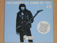 THE PRETENDERS -I'll Stand By You- 2xCDEP Limited Edition