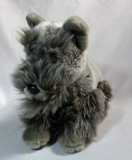 Scottie Dog Scottish Terrier Stuffed Gray Stuffed Animal Plush Toy 13""