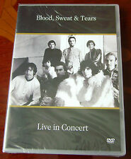 Blood, Sweat And Tears Live In Concert DVD - Sealed