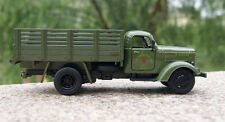 1:32 1/32 Army Green Jiefang Military Truck Diecast Truck Model With Light Sound