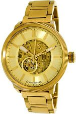Armani Exchange Men's AX1417 Gold Stainless-Steel Automatic Watch
