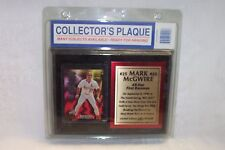 "Mark McGwire #25 Plaque 8"" X 6"" Limited Edition 2485 of 6200 New in package"