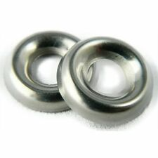 Stainless Steel Cup Washer Finishing Countersunk #8 Qty 250
