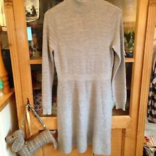 Fenn Wright Mason100% merino wool dress 14 excellent worn once light grey
