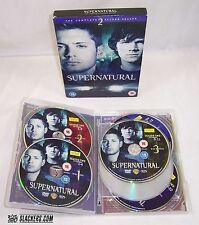 SUPERNATURAL TV Complete Second Season 2 REGION 2 TV Horror Fantasy 6 DVDs