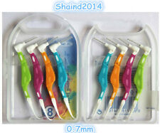 8 Pieces Dental Oral Care Interdental Floss Brush Tooth Pick 0.7mm