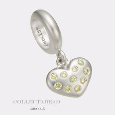Authentic Endless Sterling Silver Citrine Million Heart Drop Bead 43600-5