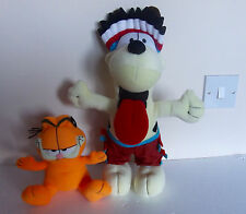 Garfield & Odie Plush Toys by Gosh Toys
