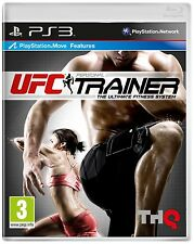 UFC Personal Trainer - Move Compatible (PS3) NEW SEALED WITH LEG STRAP