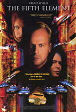 """THE FIFTH ELEMENT Movie Poster [Licensed-NEW-USA] 27x40"""" Theater Size (B)"""