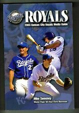 2003 Kansas City Royals Baseball MLB Media Guide