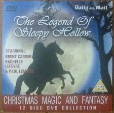 DVD -  MAGIC & FANTASY - THE LEGEND OF SLEEPY HOLLOW - NEWSPAPER PROMOTION