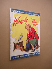 SCHOOLGIRLS OWN LIBRARY no359 1960s WENDY - ODD GIRL OUT. HAZEL ARMITAGE