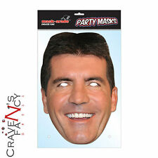Simon Cowell Mask Mask-arade X Factor BGT Face Mask Impersonation Fancy Dress