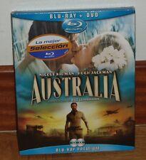 AUSTRALIA - COMBO BLU-RAY+DVD - NUEVO - PRECINTADO - DRAMA-BELICO -DESCATALOGADO