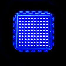 100W Watt Blue High Power LED Light SMD chip 450nm 2000-2500LM 30V Aquarium DIY