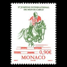 Monaco 2005 - Intl Jumping Tournament Monte Carlo Sports Horse - Sc 2377 MNH