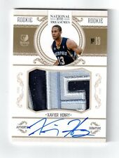 2010-11 XAVIER HENRY National Treasures Rookie Auto Patch #47/99 RAP