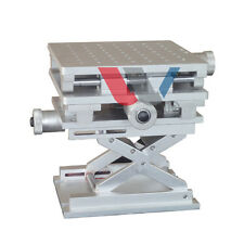 XYZ 3-axis Position Lifting Platform Stage Traveling Test Table 150*210mm #U095