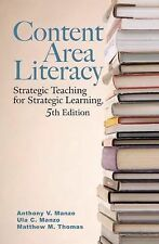 CONTENT AREA LITERACY (US HARDCOVER STUDENT 5/E; ISBN-13: 9780470129098)