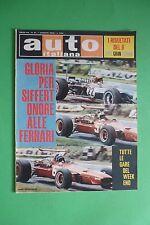 AUTO ITALIANA 31/1968 GP GRAN BRETAGNA 6 ORE WATKINS GLEN 24 ORE FRANCORCHAMPS