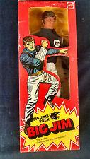 """MISB 1975 Mattel Big Jim's P.A.C.K. Wolf pack Commander Jim Vtg Leader 10"""" Doll"""
