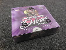 Marvel Dangerous Divas Series 2 - Factory Sealed BOX w/ Colored Sketch
