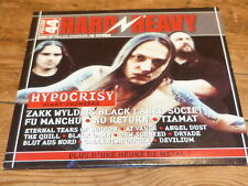 Various ‎– HARD & HEAVY 44 - HYPOCRISY !!!!! !!!!!!!!!!!! ! RARE CD FRANCE
