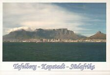 View of Cape Town, South Africa, Table Mountain, Skyline --- German Postcard