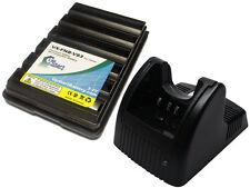 Battery & Charger for Yaesu Vertex VX-180 VX-414 VX-427 VX-170 FNB-V57