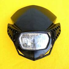 BLACK STREETFIGHTER HEADLIGHT FAIRING BUELL XR CRF DRZ KLX KLR NAKED BIKE LED