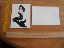 1990 Olivia De Berardinis Pin-up O cards greeting card Up Periscope