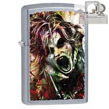 Zippo 28876 screaming zombie Lighter with PIPE INSERT PL