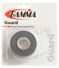Gamma Guard - Tennis Racket Head Protection Tape - Black - Free P&P