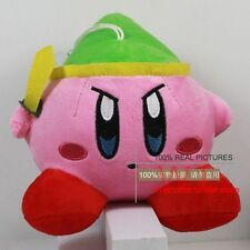 "New BANPRESTO KIRBY 5.8"" Link Zelda Soft Plush Toy Pink"