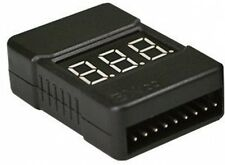 Lipo Battery Low Voltage Tester Checker 1S-8S Buzzer Alarm With LED Indicator