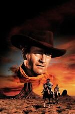 Searchers Movie Poster #01 John Wayne 11inx17in mini poster