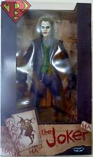 "JOKER Heath Ledger DC Comics Dark Knight 18"" inch 1/4 Scale Figure Neca 2015"