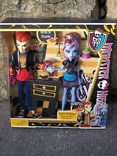 MONSTER HIGH HOME ICK DOUBLE THE RECIPE ABBEY BOMINABLE & HEATH BURNS